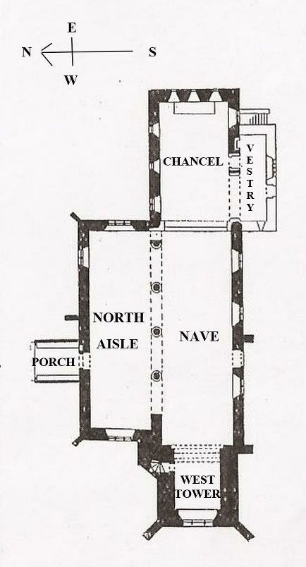 Weston Church Plan